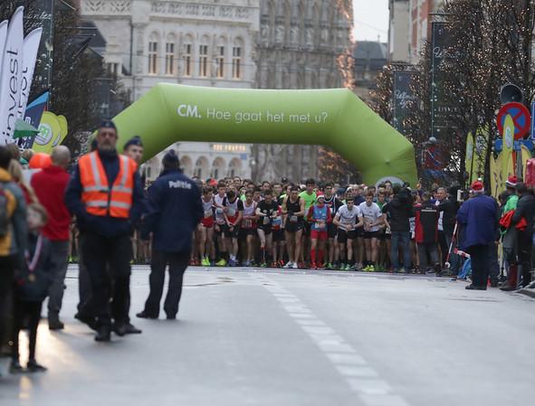 Eindejaarscorrida Leuven - 26dec16 - 4,1km