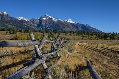 Inside Teton National Park