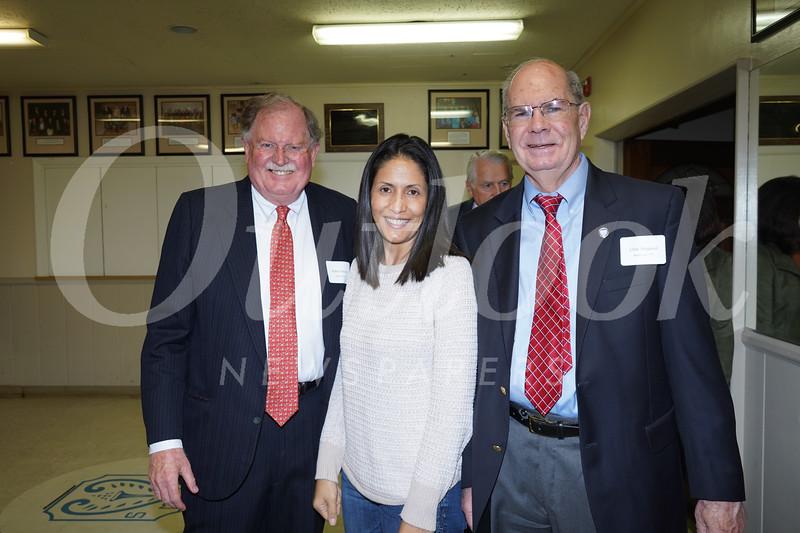 Bob Houston, Gabrielle Carlton and Chris Norgaard