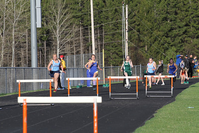 Manton Invite Girls 300 Hurdles