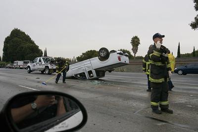 truck rollover I-80 10/4/06
