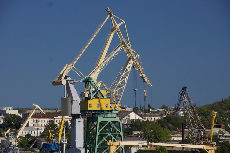 Crane in Sevastopol harbor, Ukraine. _DSC4409