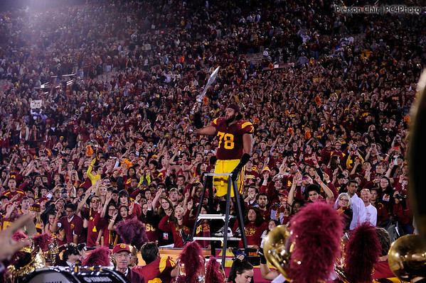 USC Football v UCLA 2011 - Post-game Celebration