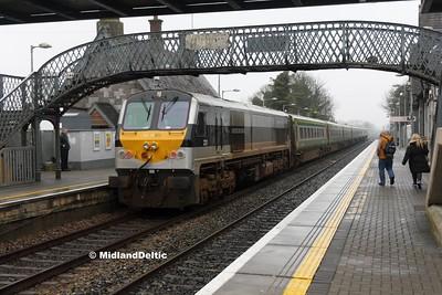Portlaoise (Rail), 17-01-2017