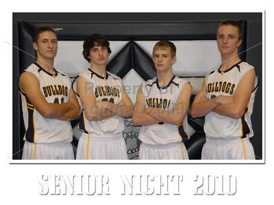 bbb senior night v dakota . 2.18.10