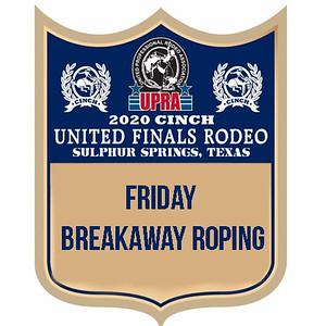 UPRA Finals Friday Breakaway Roping