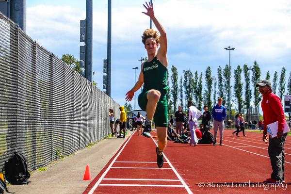 2019-05-17 Sea-King District Track and Field Finals - 4A Boys