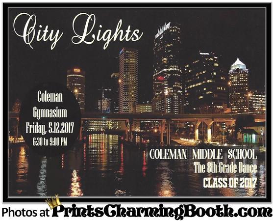 5-12-17 Coleman Middle School - City of Lights logo.jpg