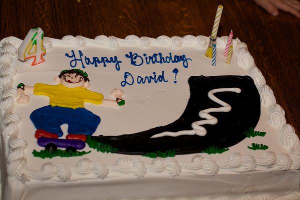 David's 4th Birthday 2009