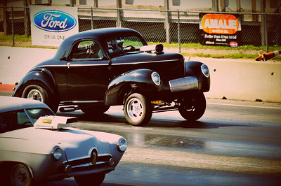 Jim Watson 41 Willys coupe