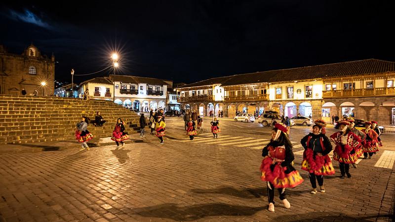 dancers Plaza Mayor Haucaypata Cusco.jpg