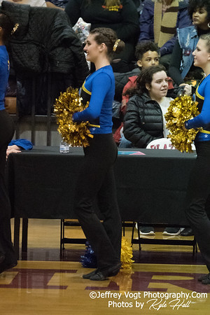 2/3/2018 Gaithersburg HS at MCPS County Poms Championship Blair HS Division 3, Photos by Jeffrey Vogt Photography with Kyle Hall