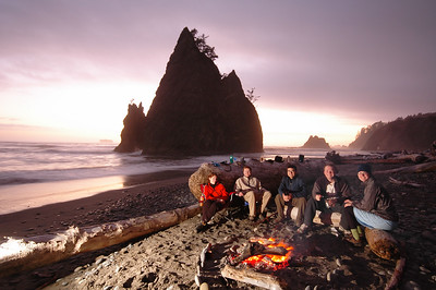 Camping on the Beach V