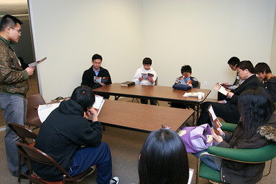 Youth Sunday School 1-24-2010