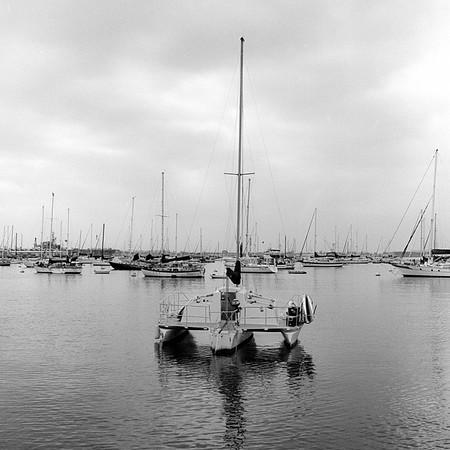 20201011   Rolleiflex   Kodak TriX   San Diego Bay