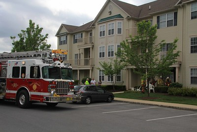Lower Macungie Apt Bld fire 5-6-12