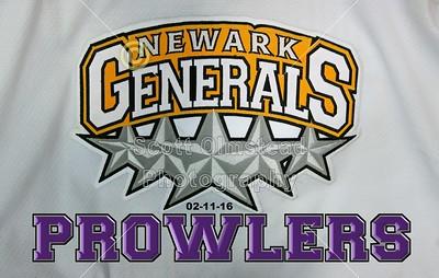 2016 Prowlers at Generals (02-11-16) Senior Night