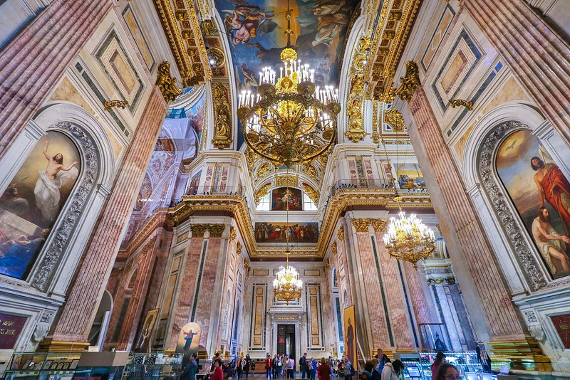 St. Isaac's Cathedral.