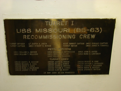 USS Missouri Memorial 4-12-13