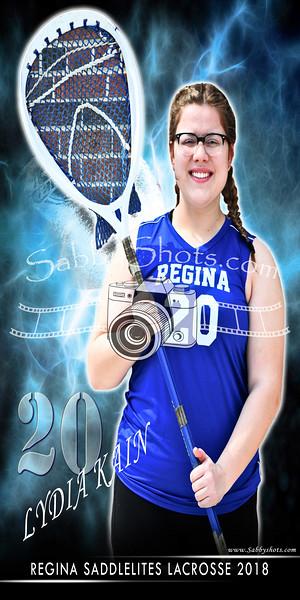 Regina Lacrosse Banners 2018