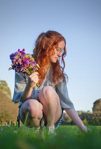Elaine Whitton - Flower girl