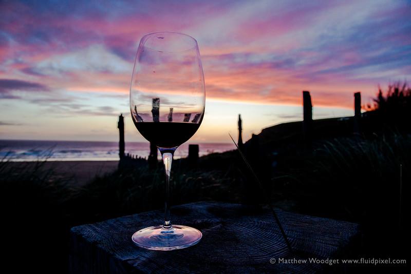 Woodget-140607-294--cloud formation, coast, coastal, coastline, glass - kitchen objects, green, mawgan porth, ocean - water, Purple, silhouette, Wine.jpg