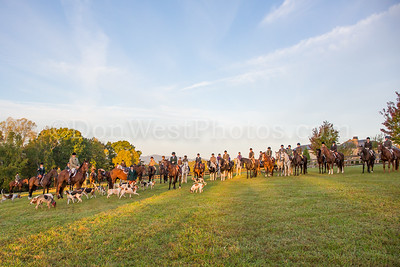 Tryon Hounds & Four Winds Joint Meets