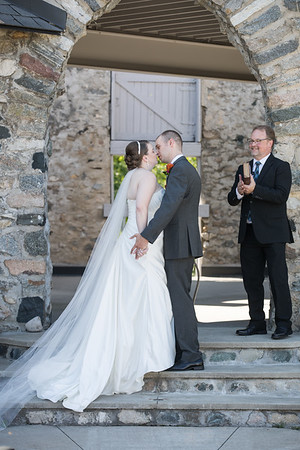 Kathleen + Greg Castle Farms Wedding Photography