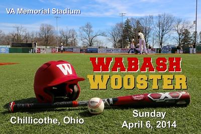 2014 Wabash versus Wooster (04-05-14)
