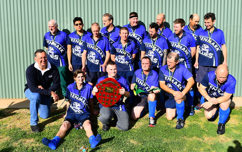 """B"" Grade men PREMIERSHIP TEAM PHOTO Renmark"