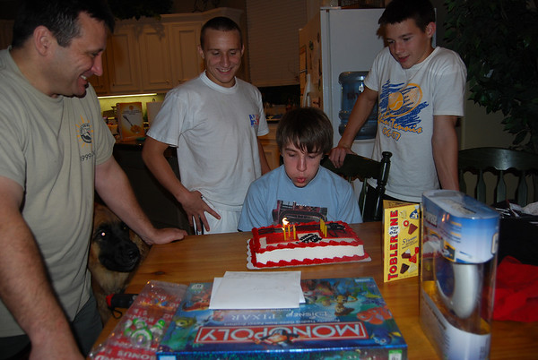 Connor is 14 - 2008