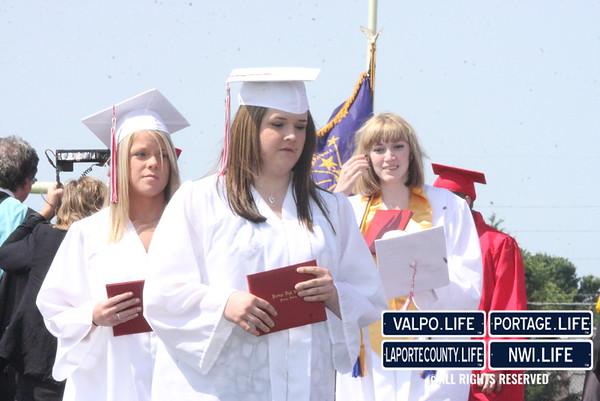 Portage High School Graduation 2011