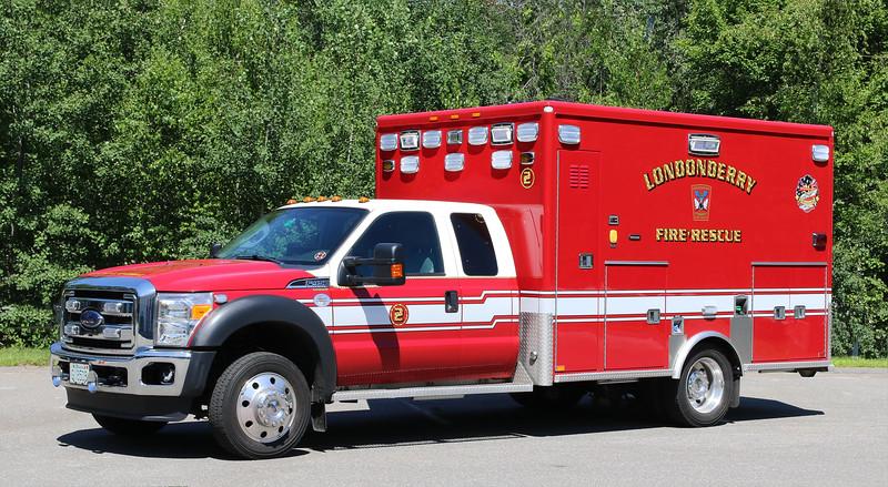 Ambulance 2.  2013 Ford F-450 / AEV