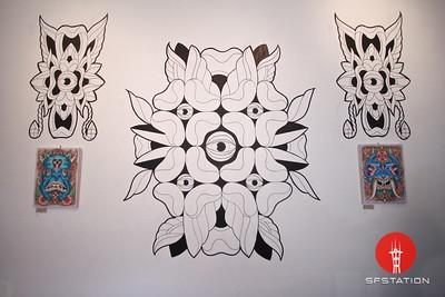 Omar Gonzales Art Show