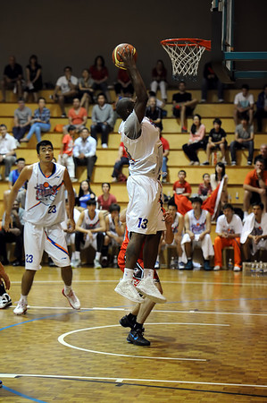 Perth Redbacks vs China - Shanghai Sharks 01102012
