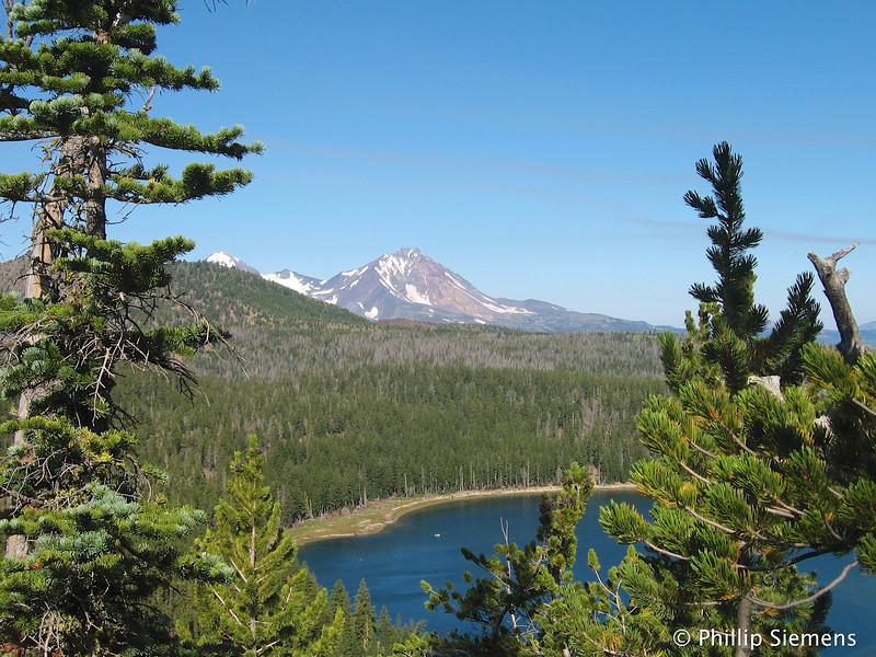 Three Creeks Lake and North Sister