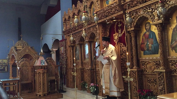 11.20.16 Sermon by by Father Christos