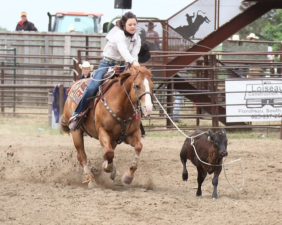 2014 SD East Region High School Rodeo - Sun