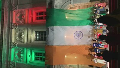 Dome TriColor Lighting at Rhode Island