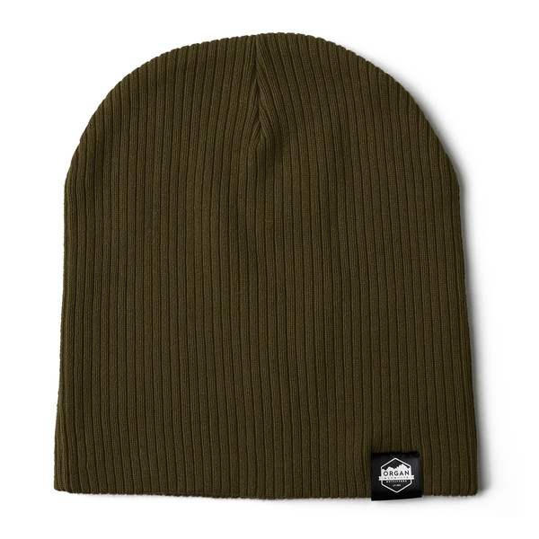 Outdoor Apparel - Organ Mountain Outfitters - Hat - Ribbed Skully Knit Beanie - Olive.jpg