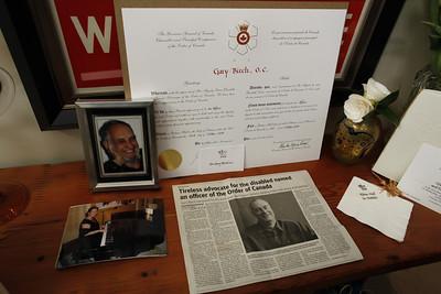 Gary Birch Order of Canada celebration