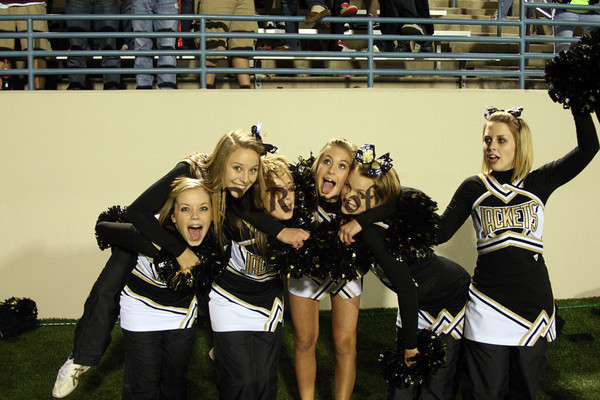 CHS Varsity Cheer Oct 17, 2009