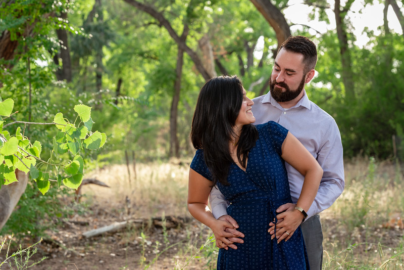 Summer Bosque Engagement Session Corrales New Mexico AJ & Gloria-7671.jpg