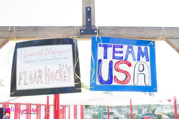 Team USA at Castle Park