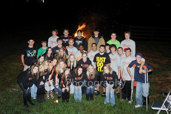 EHS Bon Fire 11-4-2010