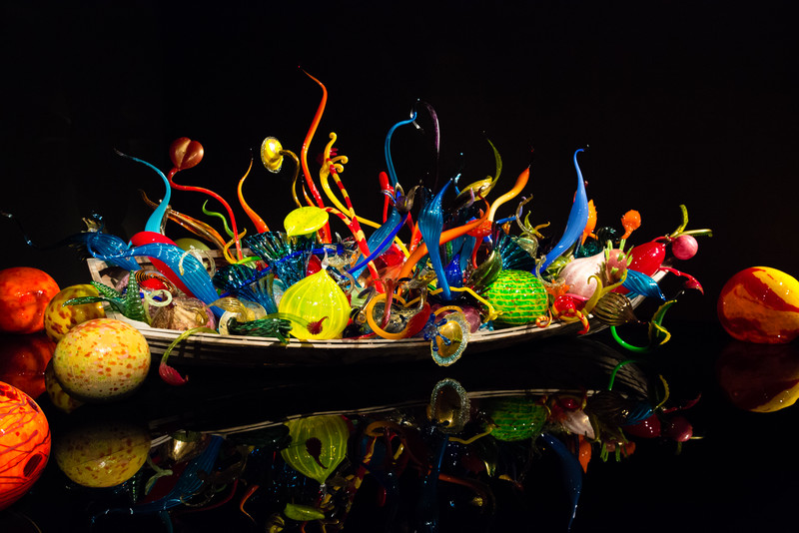 Ikebana and Float Boats
