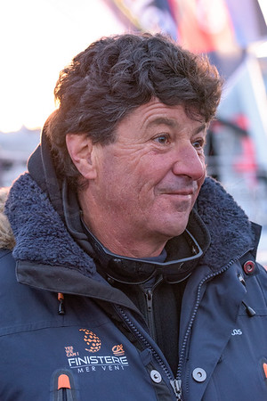 Vendee Globe - Race Day at the Pontoon