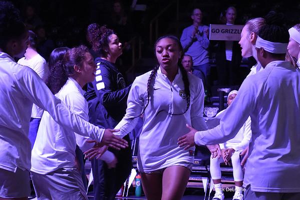 Oakland Women's Basketball vs UofM 12-09-2018