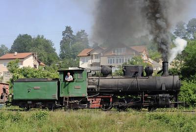 Bosnia: Banovici coalfield railway, 2014 2