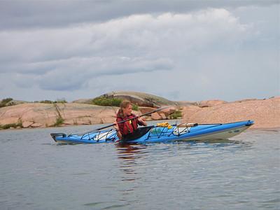 Kayaking on Georgian Bay -  Diamond Key Lodge
